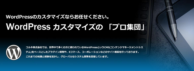 WordPressカスタマイズのプロ集団